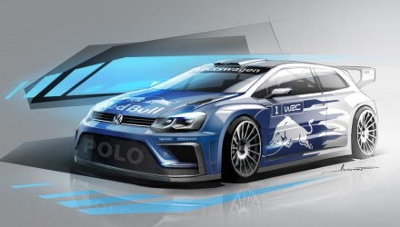 2017 Volkswagen Polo R WRC car previewed; more power, lighter