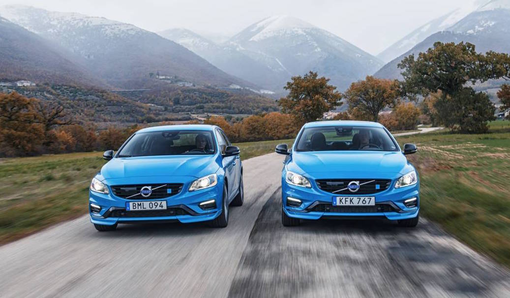 2017 volvo s60 polestar gets 2l twin charged 4cyl quickest volvo ever performancedrive. Black Bedroom Furniture Sets. Home Design Ideas