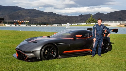 $4.2m Aston Martin Vulcan delivered to Highlands Motorsport Park