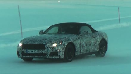 BMW Z5 prototype spotted, all-new sports car co-developed with Toyota