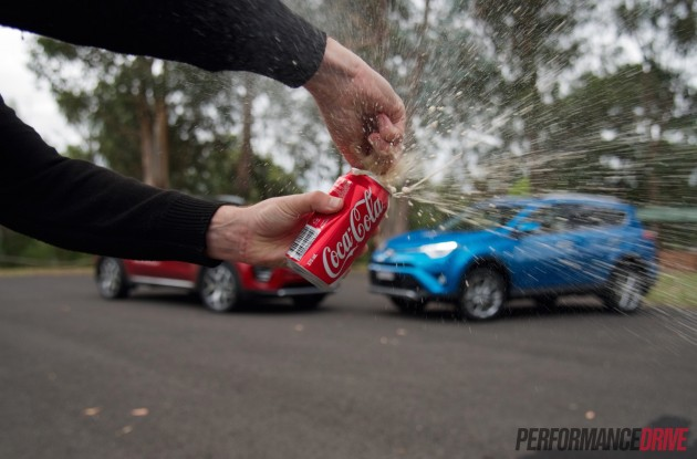 Coke-RAV4 Sportage