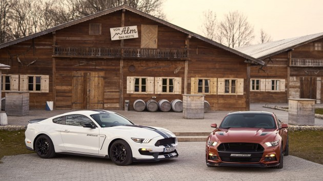 Geiger Ford Mustang GT 820-side