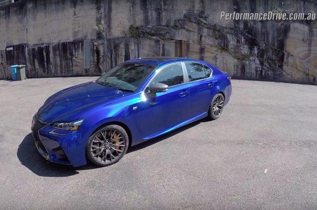 Lexus GS F PDriveTV