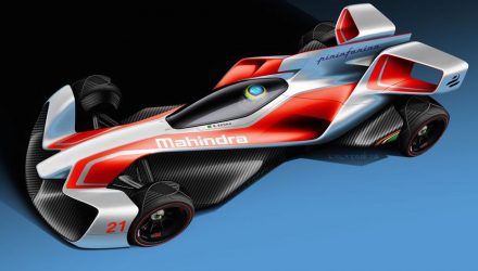 Mahindra Formula E concepts revealed, designed by Pininfarina