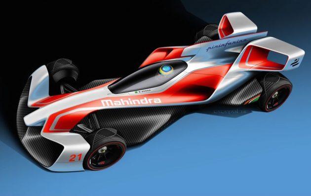Mahindra Forumla E Pininfarina concept-2