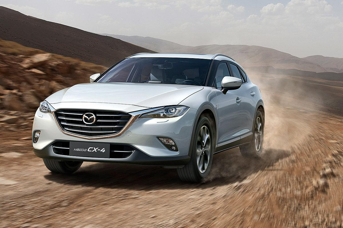 sporty mazda cx 4 debuts in china for chinese market only performancedrive. Black Bedroom Furniture Sets. Home Design Ideas