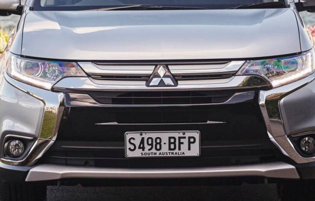 Mitsubishi Outlander-badge