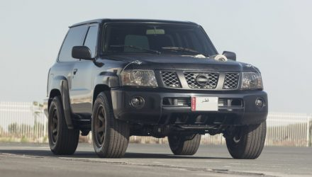1000kW Nissan Patrol is your everyday drive in the Middle East