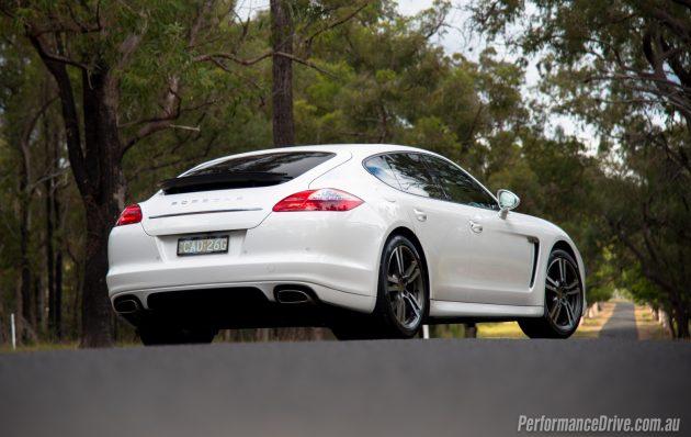 Porsche Panamera Diesel-rear