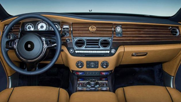 Rolls-Royce Wraith Nautical-dash