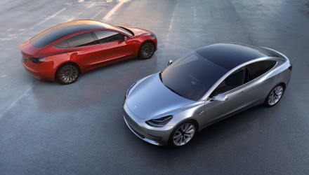 Tesla Model 3 officially revealed