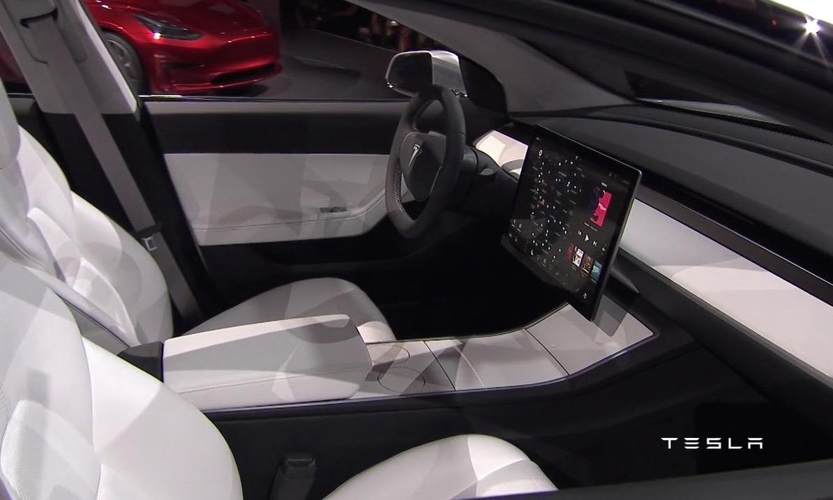 Tesla Model 3 Officially Revealed Performancedrive