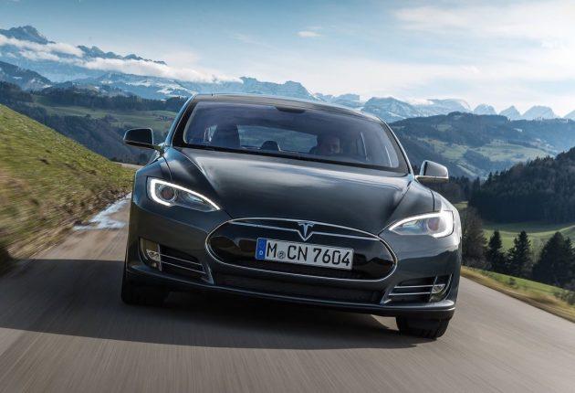 Tesla Model S-grille