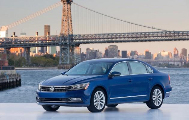 Volkswagen Passat US-spec