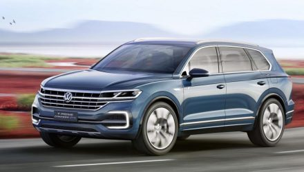 Volkswagen T-Prime GTE concept revealed, previews new large SUV