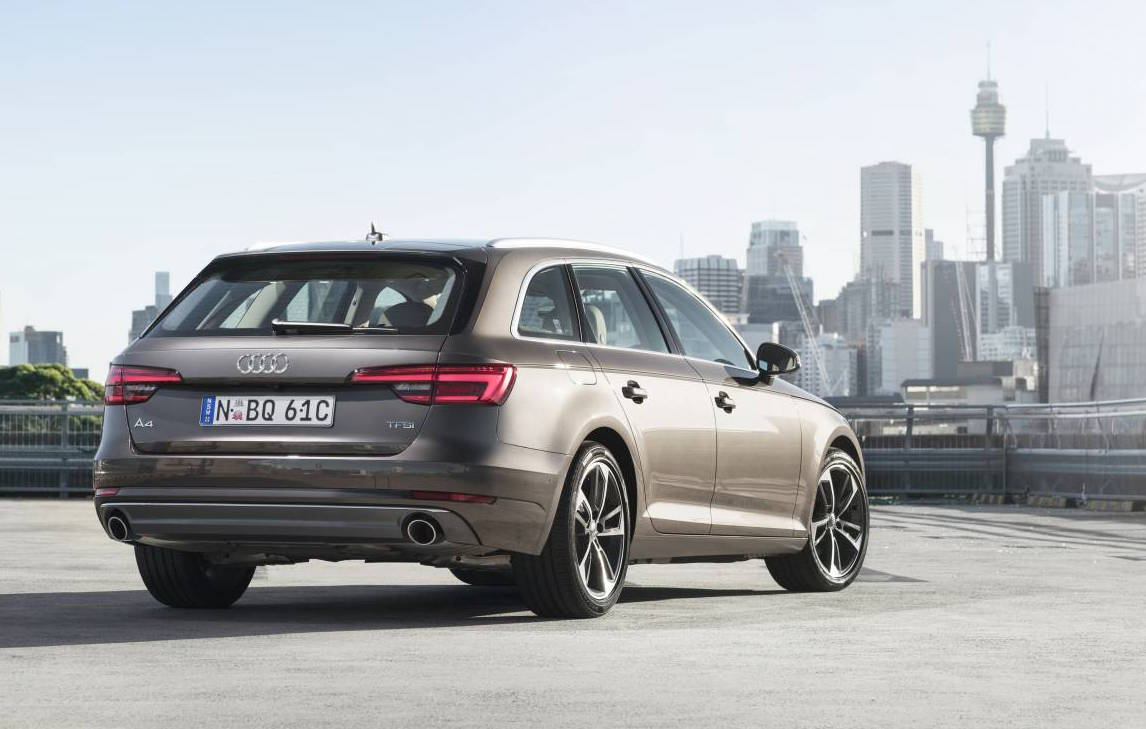 2016 audi a4 avant on sale in australia from 63 900 performancedrive. Black Bedroom Furniture Sets. Home Design Ideas