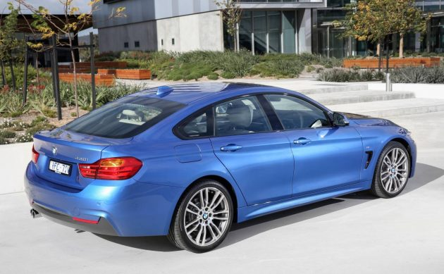 2016 BMW 430i Gran Coupe-rear
