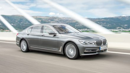 BMW 750d revealed; new quad-turbo super limo