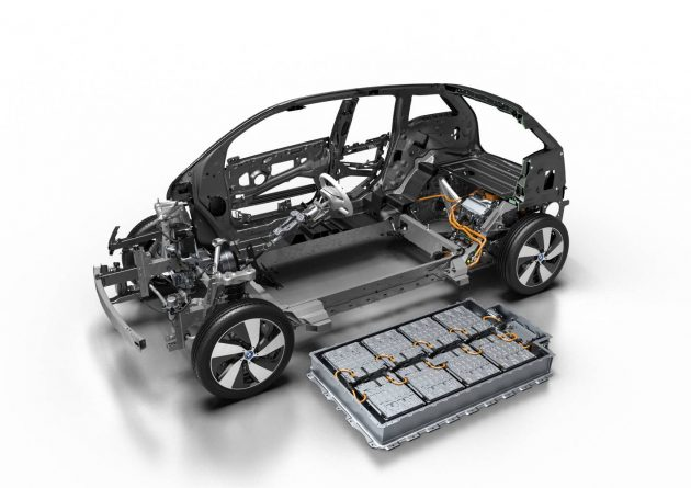 2016 BMW i3-battery