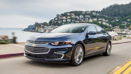 Top-spec 2017 Chevrolet Malibu to debut new 9-speed auto