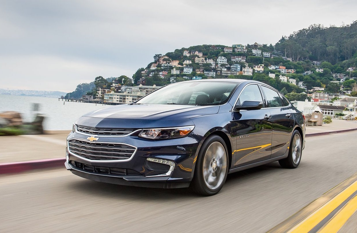Top Spec 2017 Chevrolet Malibu To Debut New 9 Speed Auto