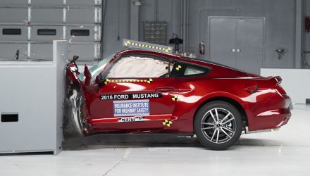 Ford Mustang, Camaro, Dodge Challenger fall short in IIHS safety test