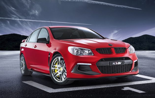 2016 HSV Clubsport Track Edition-