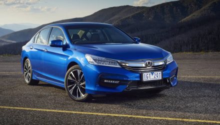 2016 Honda Accord update on sale in Australia from $32,990