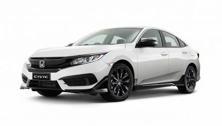 2016 Honda Civic sedan gets sporty Black Pack option in Australia