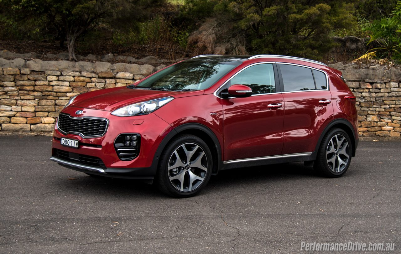 2016 Kia Sportage Red 200 Interior And Exterior Images