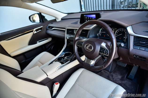 2016 Lexus RX 200t-interior