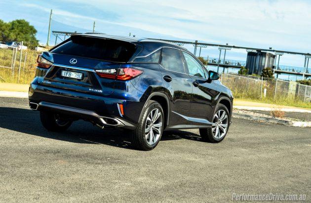 2016 Lexus RX 200t-rear