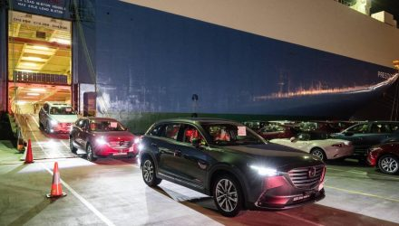 First 2016 Mazda CX-9 SUVs arrive in Australia, huge interest already