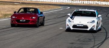 2016 Mazda MX-5 vs Toyota 86