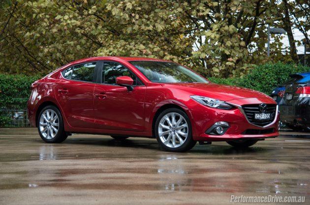 2016 Mazda3 SP25 Astina sedan