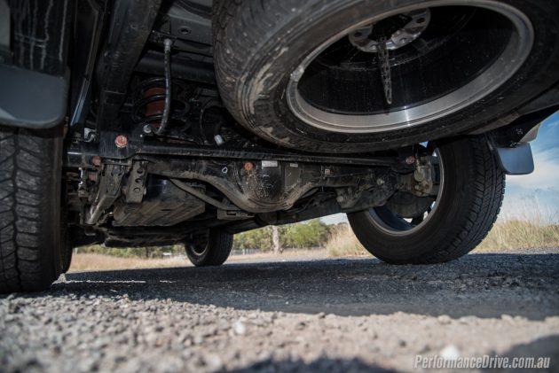2016 Mitsubishi Pajero Sport Rear Suspension