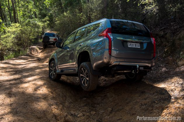 2016 Mitsubishi Pajero Sport-wheel travel