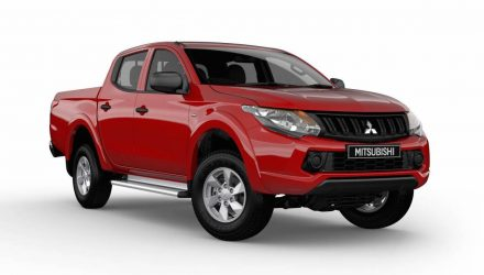 2016 Mitsubishi Triton GLX+ special edition on sale in Australia