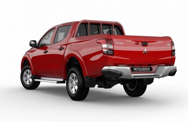 2016 Mitsubishi Triton GLX+ double cab-rear