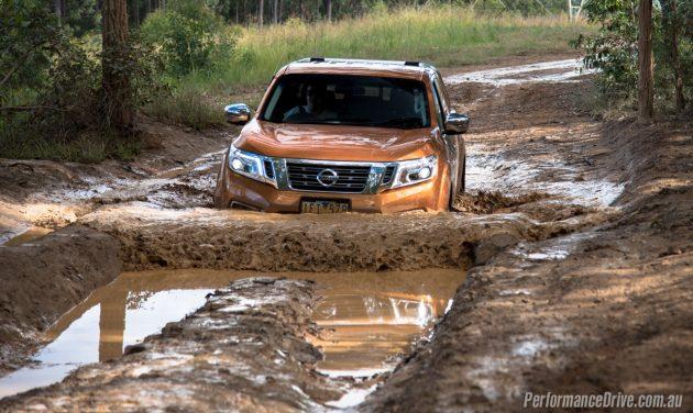 2016 Nissan Navara ST-water wading