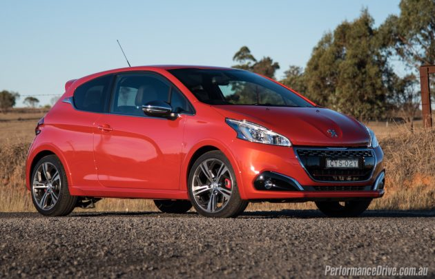 2016 Peugeot 208 GTI-Orange Power