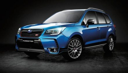 2016 Subaru Forester tS STI on sale in Australia from $54,990