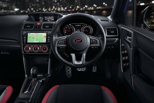 2016 Subaru Forester tS-interior
