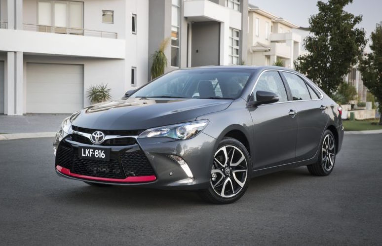 2016 toyota camry on sale in australia from 26 490 performancedrive. Black Bedroom Furniture Sets. Home Design Ideas