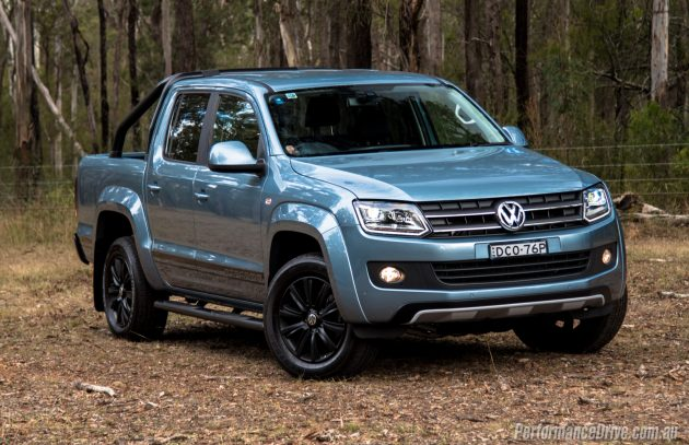 2016 Volkswagen Amarok Atacama-Horizon Blue