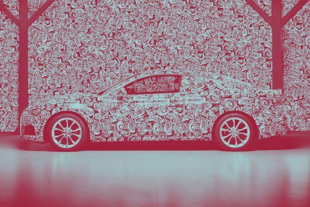 2017 Audi A5 prototype