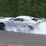 2017 Chevrolet Camaro Z/28 spotted, crashes at Nurburgring (video)