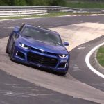 2017 Chevrolet Camaro ZL1 spotted, insane speed & noise (video)