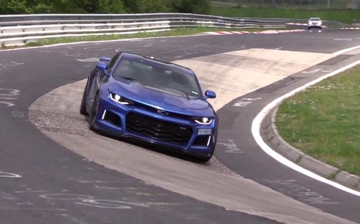2017 Chevrolet Camaro ZL1 spotted, insane speed & noise (video) | PerformanceDrive