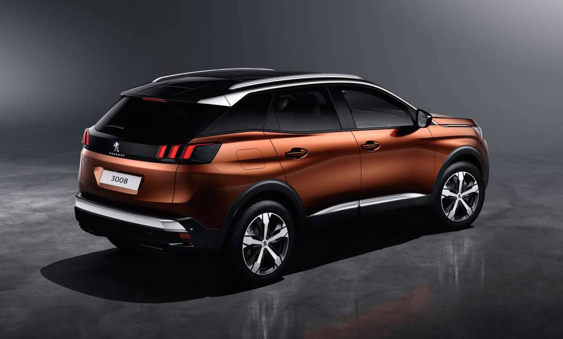 2017 Peugeot 3008 officially revealed; larger, SUV ...